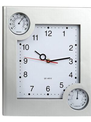 Ρολόι τοίχου με θερμόμετρο & υγρόμετρο